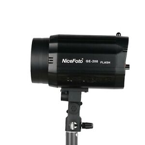 Fomito Nicefoto GE-200 5500K Mini Studio Flash GE Series for Professional Stu...