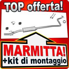Centrale di Scarico TOYOTA YARIS 1.0 16V 68CV 1999-10.2005 Marmitta KKX