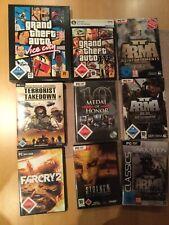 PC Spielesammlung - Konvolut 9 Spiele Ab 18