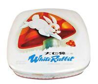 Vintage White rabbit creamy candy Tin Candy box