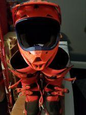Fox Racing Helmet And Boots