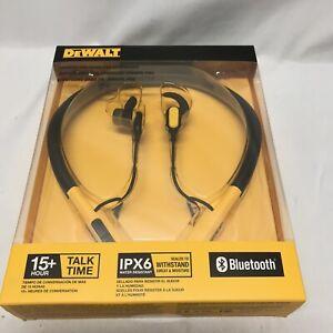 DeWalt IPX6 DXMA1902091 Jobsite Pro Wireless Bluetooth Earphones NEW!
