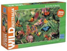 Blue Opal 1874 Jigsaw Puzzles Wild Australia Butterflies & Beetles Puzzle 300pc