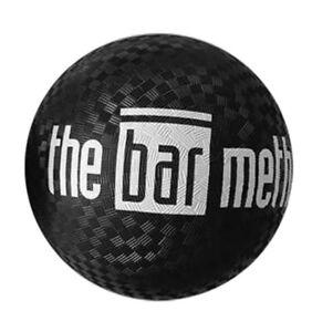 """The Bar Method White Logo 7"""" Black Exercise Ball - Brand New - Fast Shipping!"""