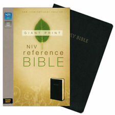 ** NIV Reference Bible, Giant Print 14pt *Thumb-Indexed* Leather-Look *NEW!  020