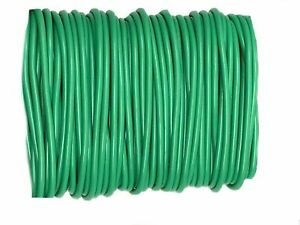 🔥8M PLANT TWINE GREEN SOFT FLEXIBLE BENDY GARDEN SUPPORT WIRE CABLE TWIST TIE