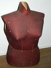VINTAGE ancien MANNEQUIN FEMME patron carton de COUTURIER couture ART DECO loft