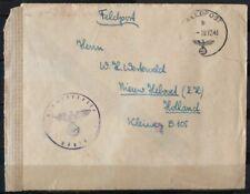 NEDERLAND; VELDPOSTBRIEFJE verstuurd naar Nederland (1)