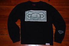 Women's Diamond Supply Company One Love Pullover Sweatshirt (Large)