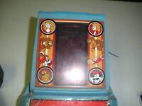 """Donkey Kong Coleco  Table Top Arcade Game with Perma Power Supply 8""""x6""""x4"""""""