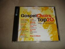 Gospel Choirs Top 20 Songs Of The Century Various Artists 2 CD Set