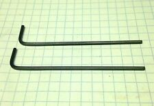 "TWO 5/64"" LONG ARM - (Allen) HEX KEYS / Heat Treated ALLOY STEELt-  INCH/SAE USA"