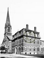 "Boston, MA Catholic churches ""ST. FRANCIS DE SALES VERNON St."" © 1892 Reprint"