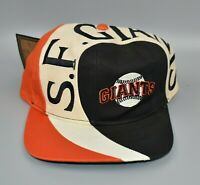 San Francisco Giants Vintage 90's Twins Enterprise The Swirl Snapback Cap Hat