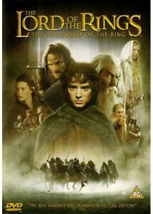 The Lord of the Rings: The Fellowship of the Ring (DVD, 2001)