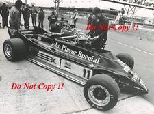 Elio De Angelis & Nigel Mansell JPS Lotus 81 British Grand Prix 1981 Photograph