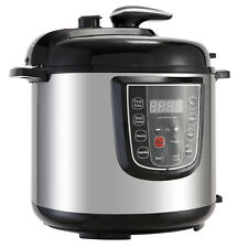 1000W 6QT Digital Multifunction Pressure Cooker Stainless Steel For kitchen