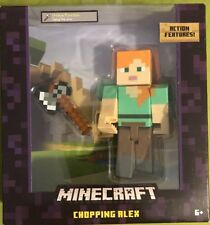 Minecraft Chopping Alex Survival Mode Ages 6+ NEW!
