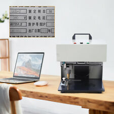 110v Table Electric Marking Machine Metal Label Printer Name Plate Tags Engraver