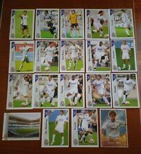 Las fichas de la liga 2007. Mundicromo. Real Madrid.