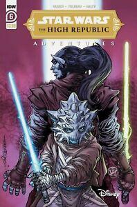 Star Wars High Republic Adventures 6 2021 IDW Disney 1st appear Jedi Leox Gya NM