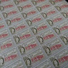 FEUILLE SHEET ÎLES TURKS ET CAIQUES N°165 x60 POISSONS ROUGET DES CARAÏBES 1957