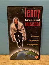 Lenny Live and Unleashed - VHS - UNTAMED - UNCENSORED - UNFORGETTABLE - Free P&P