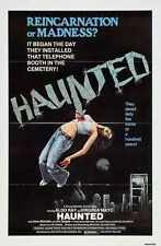 Haunted 1979 Poster 01 A2 Box Canvas Print