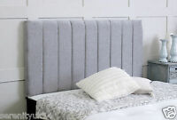 !!!EXCELLENT PORTLAND **GREY CHENILLE HEADBOARD** ALL SIZES AVAILABLE