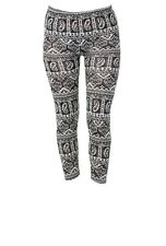 Tattoo SEÑORA LEGGINS fashion vomite pantalones look retro talla única