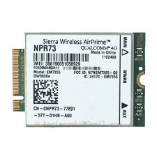 Dell Wireless DW5808e Gobi 4G LTE EM7355 Mobile Broadband Card for E6430-ATG