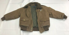 Exceptional Polo Ralph Lauren Airforce Kids Shearling Bomber Jacket-Vintage-Rare