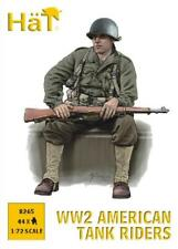 HaT 8265 1/72 Plastic WWII American Tank Riders & Weapons