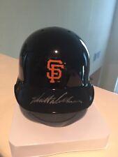 Matt Williams Signed Auto Mini Helmet w Stand SF San Francisco Giants Proof NIB