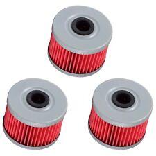 3 Oil Filter Filters for Honda TRX 250 250X 300 300FW 300EX 400EX Rancher 350