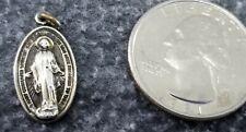5 x Tibétain Argent église chapelle Cathédrale 3D 20 mm charms pendentifs perles