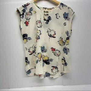 Maurice's Floral Patterned Sleeveless Blouse Size Small