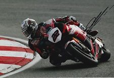 Jason O 'Halloran Firmato a Mano HONDA RACING 12x8 PHOTO BSB 1.