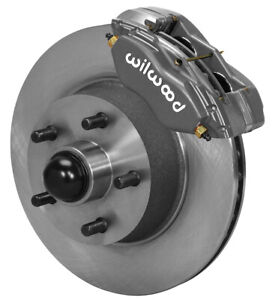 "WILWOOD DISC BRAKE KIT,FRONT,65-69 FORD,MERCURY,11.30"" ROTORS,LINES,PADS,MUSTANG"