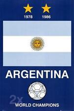 ARGENTINA: WORLD CUP CHAMPIONS-Maxi poster 61 CM x 91.5 cm Nuovo e Sigillato