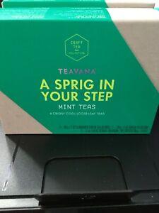 Teavana A Sprig In Your Step Mint Teas 4 different teas