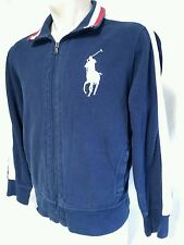 Ralph Lauren Polo Big Pony Full Zip USA Track Jacket Sweatshirt Men's Size XL