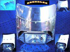 LAMPENSCHIRM ALU SCHEINWERFER LAMPE VERKLEIDUNG LAMPENVERKLEIDUNG PHARE CARENAGE