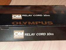 OLYMPUS OM RELAY CORD 10m FOR MOTOR DRIVE 1/2 NEW IN BOX
