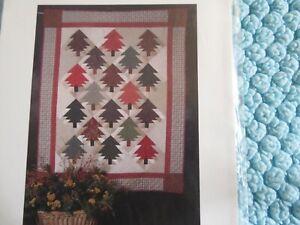 "quilted pattern ""Prairie Pines"""