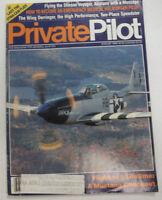 Private Pilot Magazine Flight Of A Lifetime August 1988 FAL 060515R2