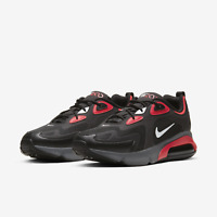Nike Air Max 200 CI3865-002 Black/Red/White Mens Running Sneakers Multiple Sizes