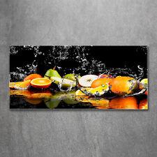 Glas-Bild Wandbilder Druck auf Glas 120x60 Deko Essen & Getränke Obst Wasser