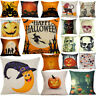 New Halloween Pillow Case Sofa Waist Throw Cushion Cover Home Decor Colorful