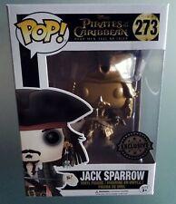 Funko Pop Jack Sparrow Gold Edition Exclusive Pirati dei Caraibi Figure Cinema